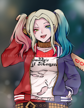 Harley Quinn by noanswer27