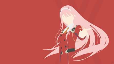 Zero Two {Darling in the FranXX} by greenmapple17