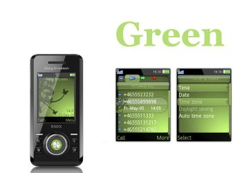 S500i theme Green_ by No52