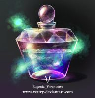 The Crystal Bottle by vertry