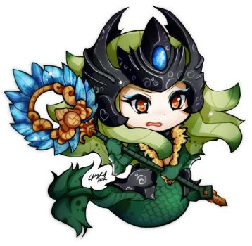 ChibiLeague  - Nami by HelloATK
