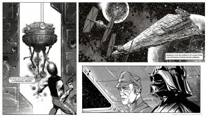 STAR WARS - panel samples by CValenzuela