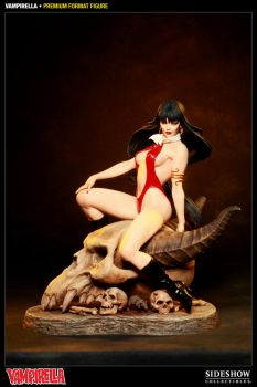 Vampirella painted production piece by MarkNewman