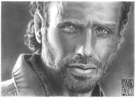 Andrew Lincoln portrait 2 by dmkozicka