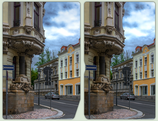 Belle Epoque in Reichenbach 3-D / CrossView / HDR by zour