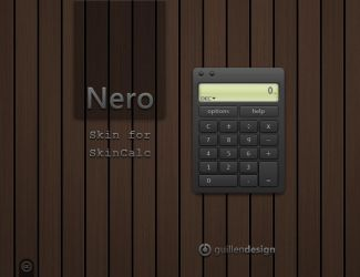 Nero SkinCalc by GuillenDesign