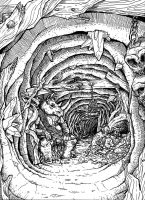 Toiling in the Mines by jediboyy