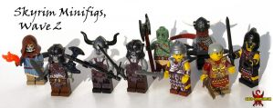 LEGO Skyrim Minifigs, set 2 by Saber-Scorpion