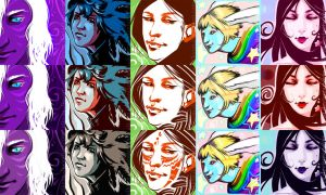 Flashmob avatars pack by Alkven