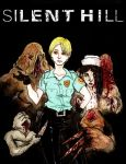 Cybil Bennett Silent Hill by Rather-Drawn