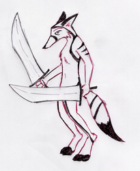 The Fox Warrior, Once Again by pro-mole