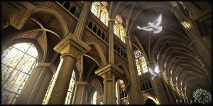 Gothic Cathedral_2 by Zorrodesign