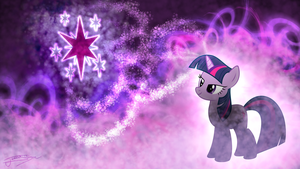 Twilight Sparkle - Casting Stars by Jamey4