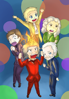 Inside Out Composers by JustSomeRandomKidLol