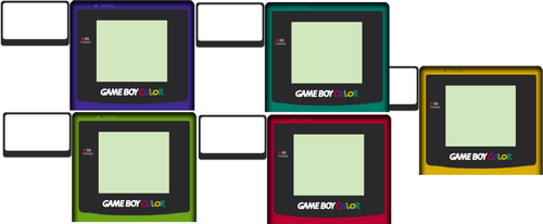 Gameboy Color Overlay by M0DULUS
