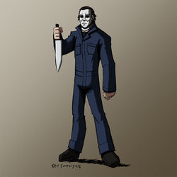 HALLOWEEN 2016 Day 10: Michael Myers by KrisSmithDW