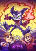 IMPMON and TAMERS by KarasuTenguProyectos