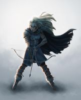Viking Archer by NatSmall