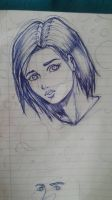 Sketching in school #5 by Crishi