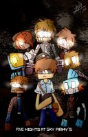 FIve Nights At Sky Army's by SanicDodo