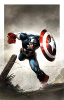 battlefield Captain America by JPRart