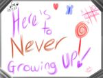 .:Never growing up:. by ZeraMist