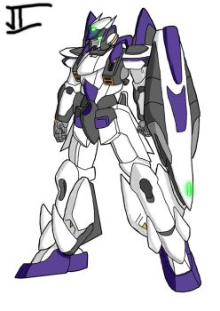 Fencer Gundam by Bad-People