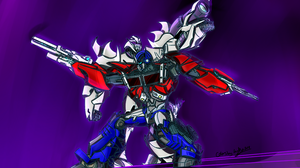 Collab:Optimus And Megatron TfpS1EOneshallrisept3 by OptimusKnight39