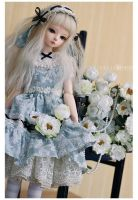 baby blue bunny by Karmade
