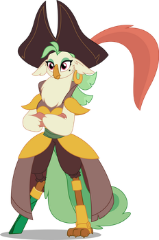 Vector #764 - Captain Celaeno #2 by DashieSparkle