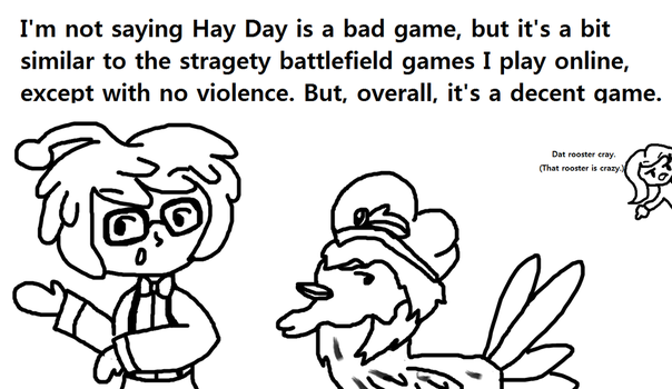 Rougent's reaction to Hay Day by Ask-The-Otekki-Crew
