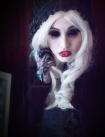 Lolita Doll with Tragic Beautiful Portrait by MoofyModel