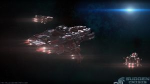 Foundation Cruiser 'Stars End' by Vattalus
