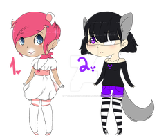 .:Hooman Adopts:.:1 OPEN by Tyger-Adopts