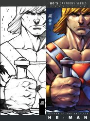 ComicCon SV Card collection He-man by biroons