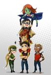 Young Justice Tower by Lo-wah