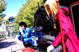 Full Metal Alchemist: On duh Choo Choo Train by RaikouCos