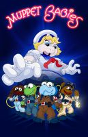 Muppet Babies Ghostbusters (Cartoon Style) by TemptingTradgedy