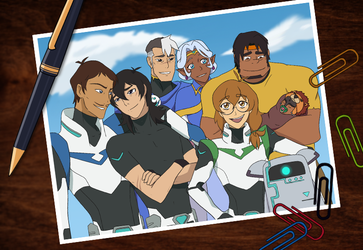 Team Voltron by Kuronishii