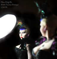 . winged glamour . by Countess-Grotesque