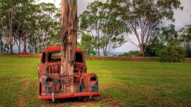 Long Term Parking - Front On by FireflyPhotosAust