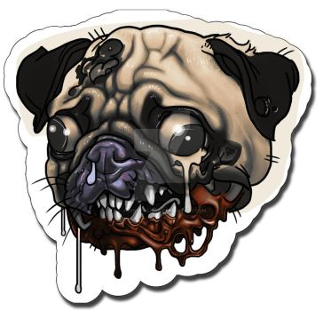 Pug by johndevilman