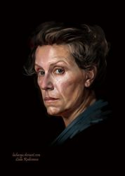 Frances Louise McDormand by ladunya