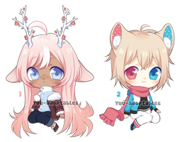 CLOSED Winter Adopts #18 AUCTION by Yuu-adoptables