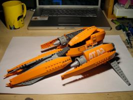 orange vic viper: WIP by Nin-jueTheKirin