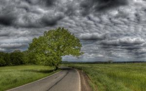 Lonely Road Wallpaper by myINQI