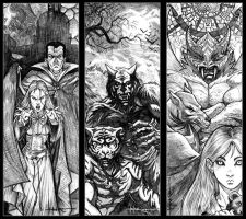 Ravenloft: Monsters by Everwho