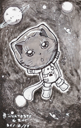 Space Kitty by Shimi34