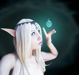 Elf Dungeons and Dragons by CherrySteam