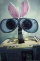 Happy Easter Wall-e by LT-Arts